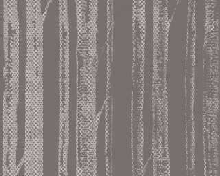 A.S. Création Wallpaper «Cottage, Grey, Metallic, White» 341353