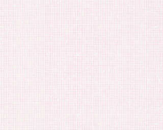 A.S. Création Wallpaper «Uni, Pink, White» 341363