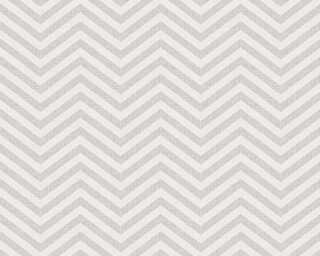 A.S. Création Обои «Графика, Белые, Металлик, Серыe» 341393