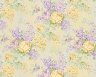 ORIGINALS Wallpaper «Floral, Cream, Gold, Green, Metallic» 341481