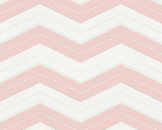A.S. Création Обои «Графика, Белые, Розовые» 342422