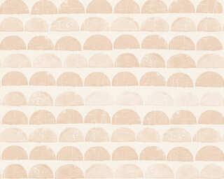 A.S. Création Wallpaper «Graphics, Beige, Cream» 342441