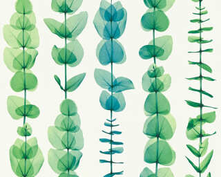 A.S. Création Wallpaper «Flowers, Green, Metallic, Turquoise, White» 342464