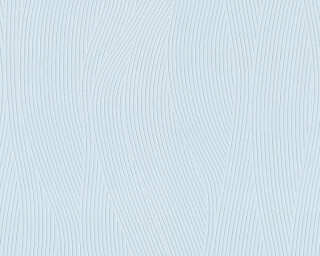 A.S. Création Wallpaper «Graphics, Blue, Gold, Metallic, Turquoise» 343775