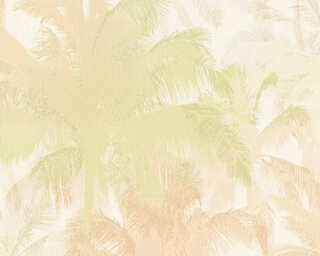 A.S. Création papier peint «Jungle, beige, métallique, or, vert» 343783