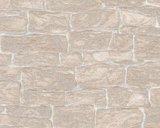A.S. Création Wallpaper «Stone, Beige, Cream» 343826