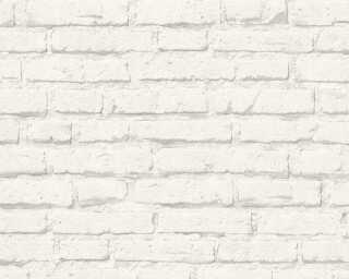 A.S. Création Обои «Под камень, Белые, Серыe» 343992