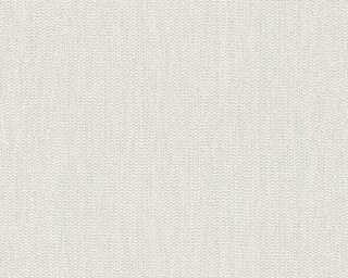 A.S. Création Wallpaper «Uni, Metallic, White» 344311