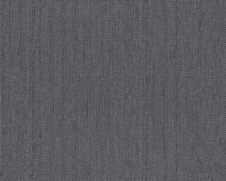 A.S. Création papier peint «Uni, bleu, gris, noir» 344335
