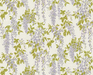 ORIGINALS Wallpaper «Floral, Gold, Grey, Metallic, Purple» 351141