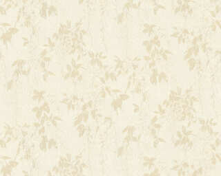 ORIGINALS Wallpaper «Floral, Beige, Cream, White» 351145
