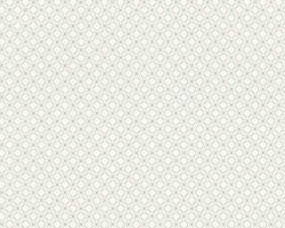 A.S. Création Wallpaper «Graphics, Metallic, White» 351173