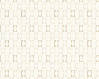 A.S. Création Wallpaper «Graphics, Gold, Grey, Metallic, White» 351183
