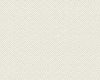 A.S. Création Wallpaper «Graphics, Cream, Grey, White» 351802