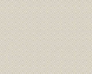 A.S. Création Wallpaper «Graphics, Beige, White» 351803
