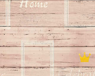A.S. Création Wallpaper «Wood, Beige, Brown, Yellow» 353411