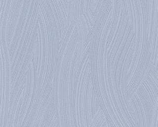 A.S. Création papier peint «Uni, bleu, gris» 354245