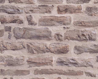 A.S. Création Wallpaper «Stone, Beige, Brown» 355801