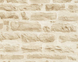 A.S. Création Wallpaper «Stone, Beige, Cream» 355802