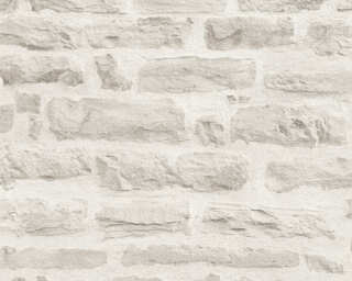 A.S. Création Wallpaper «Stone, Grey» 355804