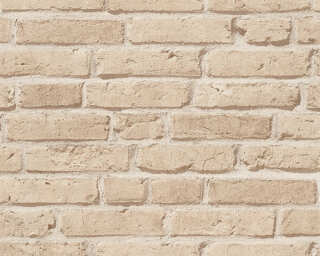 A.S. Création Wallpaper «Stone, Beige» 355812