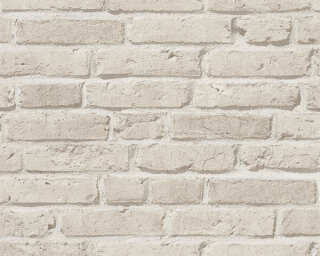 A.S. Création Wallpaper «Stone, Grey» 355813