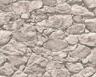 A.S. Création Wallpaper «Stone, Beige, Grey» 355834