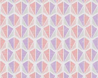 A.S. Création Обои «Графика, Розовые, Серыe, Фиолетовые» 355982