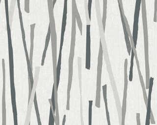 A.S. Création Обои «Графика, Кремовые, Металлик, Серыe» 355991