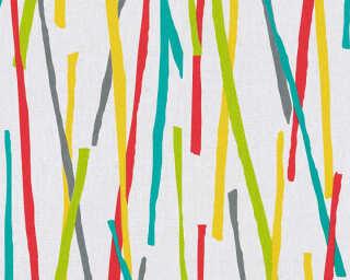 A.S. Création Обои «Графика, Бирюзовые, Кремовые, Металлик, Разноцветные» 355992