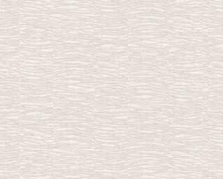 A.S. Création papier peint «Graphique, argent, crème, métallique» 356911