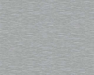 A.S. Création papier peint «Graphique, argent, gris, métallique» 356914