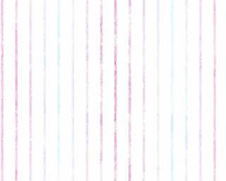 Esprit Home Wallpaper «Stripes, Blue, Purple, White» 356953