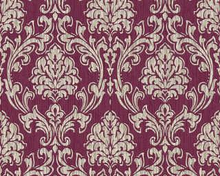 Esprit Home papier peint «Baroque, crème, métallique, or, rouge» 357022