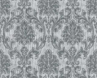 Esprit Home Wallpaper «Baroque, Grey, Metallic, Silver» 357023