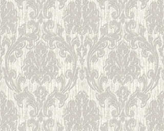 Esprit Home Wallpaper «Baroque, Beige, Grey, Metallic, Silver» 357024