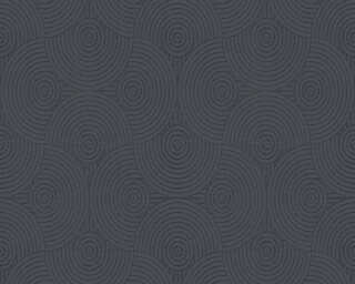 Esprit Home Wallpaper «Graphics, Black, Metallic, Silver» 357154