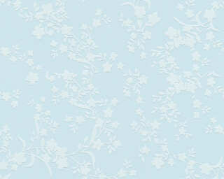 Esprit Home Wallpaper «Flowers, Blue» 357534