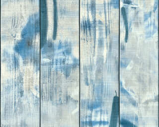 Livingwalls Wallpaper «Stripes, Blue» 358051