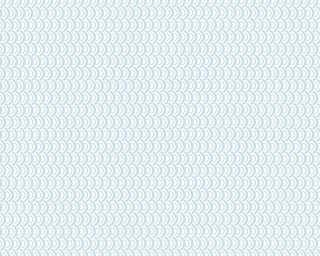 Esprit Home papier peint «Graphique, blanc, bleu, métallique» 358191