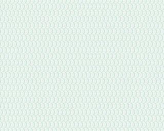 Esprit Home papier peint «Graphique, blanc, métallique, vert» 358193