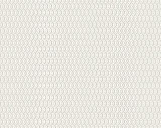 Esprit Home papier peint «Graphique, blanc, gris, métallique» 358194