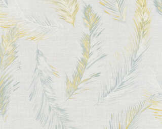 Private Walls Wallpaper «Cottage, Floral, Grey, Yellow» 358961