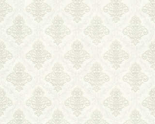 A.S. Création Wallpaper «Baroque, Beige, Cream, Metallic, Silver» 359332