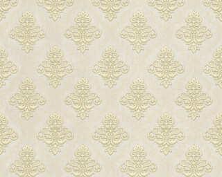 A.S. Création papier peint «Baroque, beige, marron, métallique, or» 359333