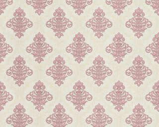 A.S. Création papier peint «Baroque, beige, métallique, or, violet» 359335