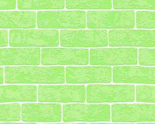 A.S. Création Wallpaper «Stone, Green, White» 359813