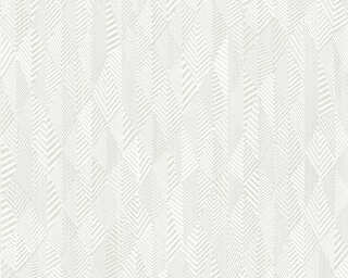 A.S. Création Wallpaper «Graphics, Cream, White» 359981