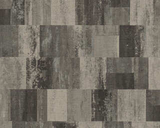 Livingwalls Wallpaper «Graphics, Beige, Black, Metallic» 360024