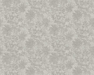 ORIGINALS Wallpaper «Flowers, Brown, Grey, Metallic, Silver» 360844